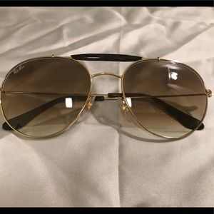 796f72777ed61 Ray-Ban Accessories - Ray-Ban RB3540 Gold Tone Sunglasses